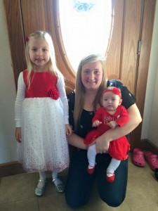 Britt with neices